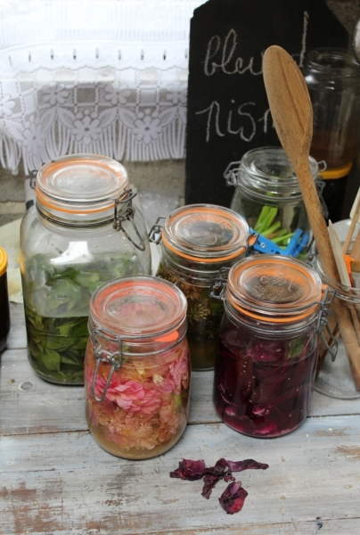 preparing fermented dyes
